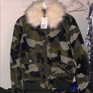 Brand new camouflage coat